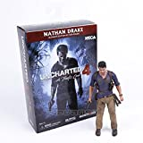 Toy, Play, Fun, NECA Uncharted 4 A thief's end NATHAN DRAKE Ultimate Edition PVC Action Figure Collectible Model Toy 18cm, Children, Kids, Game