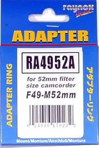 Raynox RA4952A 52-49 mm Paso anillo adaptador de abajo para 52 mm Filtro