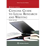 Concise Guide to Legal Research and Writing (Aspen College Series)