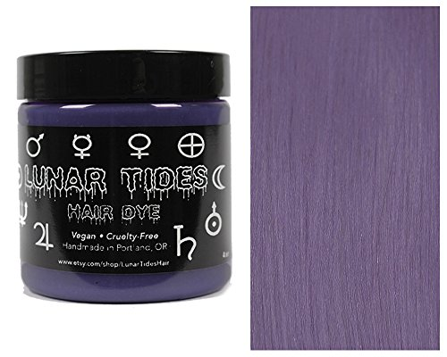 Lunar Tides Hair Dye - Smokey Purple Grey Semi-Permanent Vegan Hair Color (4 fl oz / 118 ml) -