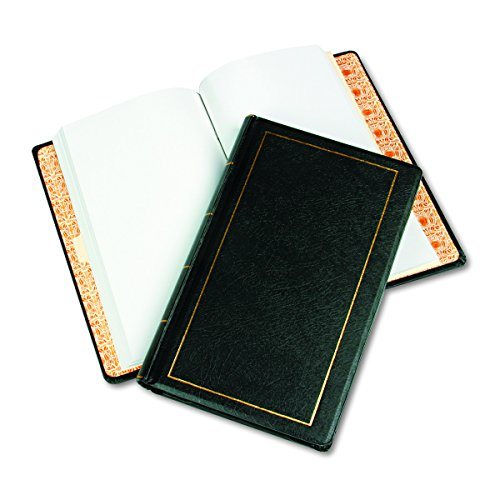 Minute Book Binders - Wilson Jones Corporate Minute Book, Legal Size 8.5 x 14 Inches, 250 Pages, Black (W0395-31)