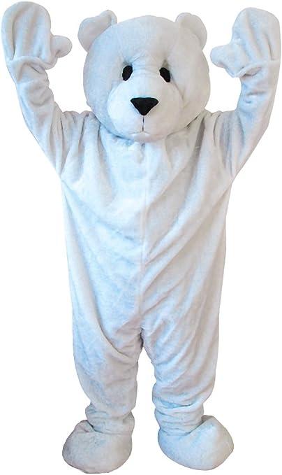 Carnival Toys 25909 - oso polar, señores separado traje, cabeza y ...