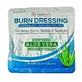 3-Pack Burn Gel Soaked Dressing 4x4 for