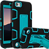 iPod Touch 7th Gen Case,iPod Touch 6th Gen Case,iPod Touch Case,SENON Slim-fit Shockproof Anti-Scratch Anti-Fingerprint Kickstand Protective Case Cover For Apple iPod Touch 2019,Blue