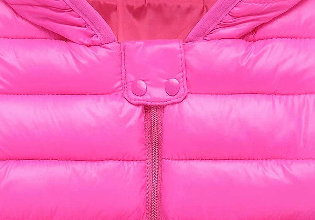 4Y 12M ARTMINE Baby Boys & Girls Down Alternative Winter Warm Hoodie Jacket