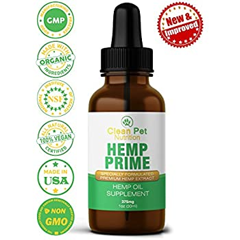 Amazon.com : Hemp Oil for Dogs and Cats (300mg