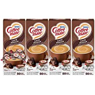 Nestle Coffee mate Coffee Creamer, Cafe Mocha, Liquid Creamer Singles, Box of 50 Singles (Pack of 4)