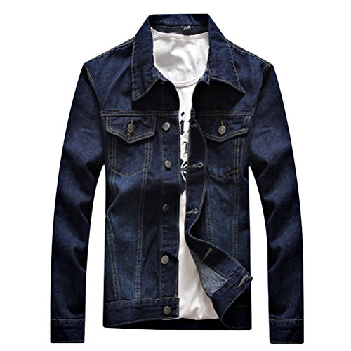 Denim Mens Jacket Spring Blue Size premium Long Zhhlaixing 4XL 20 Autumn High Quality Calidad Sleeve L wxCfEqfzn