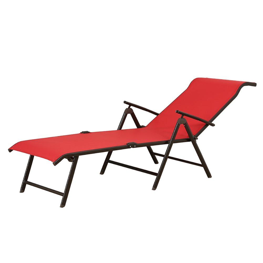Mesh Blatt Klappbett Einzelbett Büro Siesta Bett Einfache Lounge Stuhl Faule Stuhl Strand Stuhl Farbe Optional