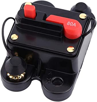 100A 1pc DC12V Circuit Breaker for Car Marine Boat Bike Stereo Audio Reset Fuse 80-300A