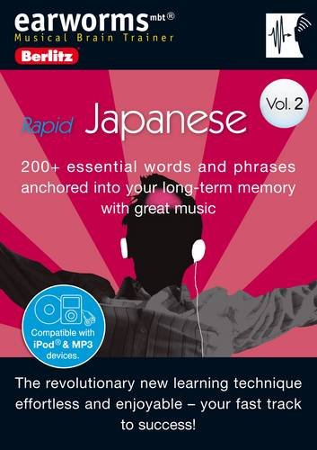 Berlitz Earworms Rapid Japanese (English and Japanese Edition) ebook