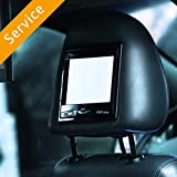 Car DVD Player Installation - Over 12', Wired - In-Store