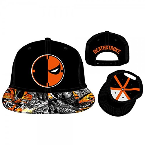 new styles 266b9 f0cb5 Image Unavailable. Image not available for. Colour  Baseball Cap - DC Comics  - Deathstroke Adjustable Flatbill Hat New bi2k8qdco