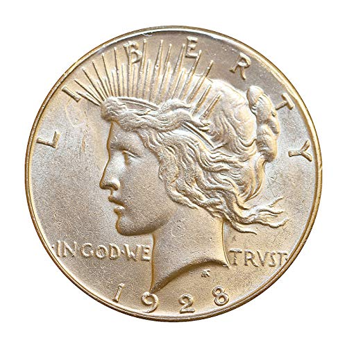 - 1928 S Peace Silver Dollar - Choice BU/MS/UNC