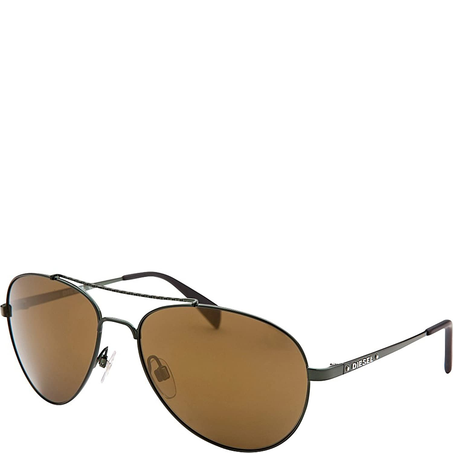Diesel Eyewear Aviator Sunglasses (Green)