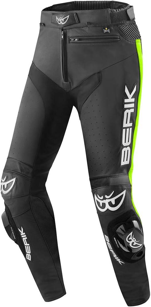 Berik Track Pantalon de moto en cuir