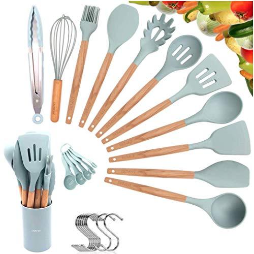 Utensils Silicone Non stick Cookware FREE FDA