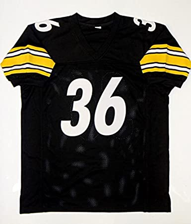 ee6e2968b7f JSA Witnessed Authenticated Jerome Bettis Autographed Black Pro Style Jersey  Jerseys