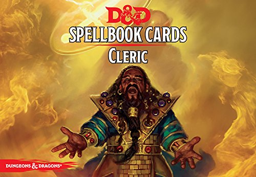 D&D Next: Cleric Spell Deck 73902 by Dungeons and Dragons