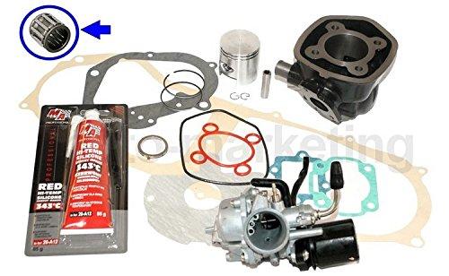 Unbranded 70cc Racing Cilindro Assy CARBURATORE Kit per MALAGUTI F12 Phantom 50 LC NonapplicabileDEE8B61A-35CD-4C13-92F8