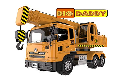 Big Daddy Extra Large Crane Truck Extendable Arms & Lever to Lift Crane Arm Crane Truck