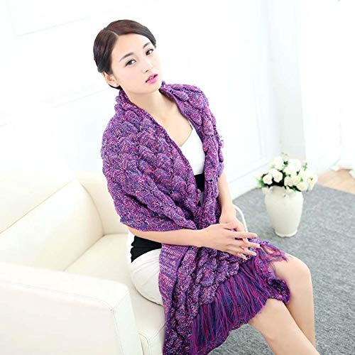 Circular Saw Table - 2019 Popular Knitted Mermaid Tail Blanket Handmade Crochet Adult Throw Bed Wrap Sleeping Bag Scarf - Tail Handmade Quality Blanket Ukraine