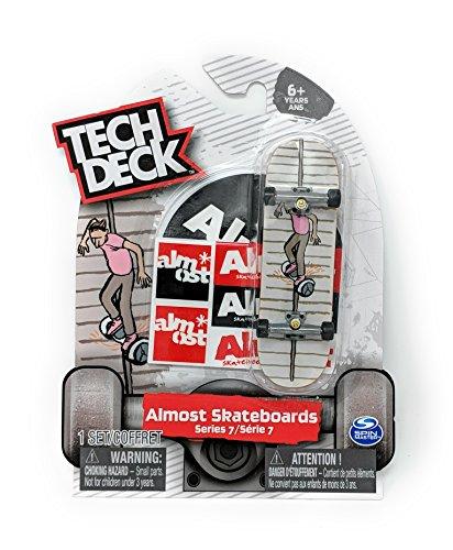 Tech Deck ALMOST SKATEBOARDS Series 7 Fingerboard - Hoverboard Rail Grind Skateboard Mini Toy Skate Board