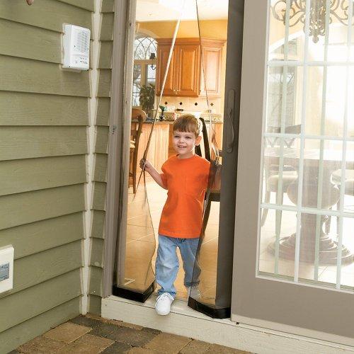 Bug off instant screen door with magnetic closure 36 for Bug off instant screen door