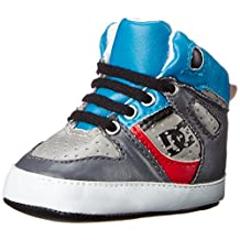 DC Shoe 1PR DC Perf Hightop Babies Crib shoe (Infant)