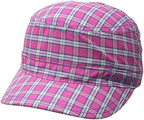 db08abc3c Columbia Youth Silver Ridge Patrol Cap, Haute Pink Plaid, Small ...