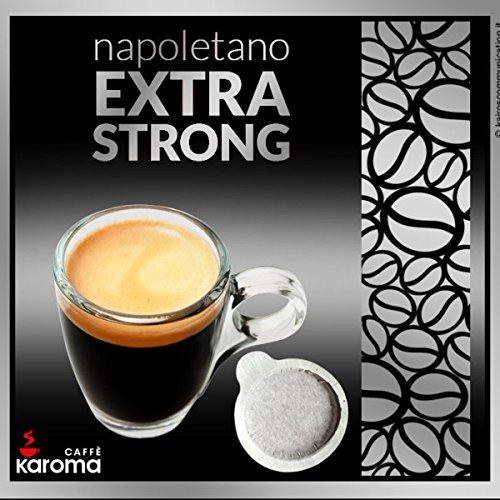 150 Karoma Easy Serve Espresso Pods! (Napoletano Extra Strong) (Paper Pods)