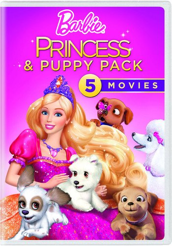 Barbie Princess & Puppy Pack]()
