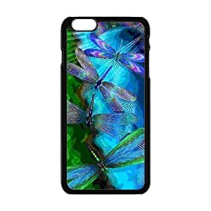 Brightly Painting Art Green Dragonfly iPhone6 Plus 5.5 by mcsharks