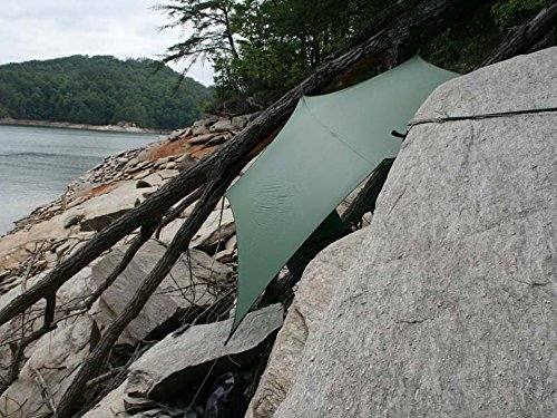 ENO Eagles Nest Outfitters - ProFly XL Sil Rain Tarp, Lichen by Eagles Nest Outfitters (Image #4)