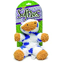 Petmate Softies Cow Toy for Dog, Medium