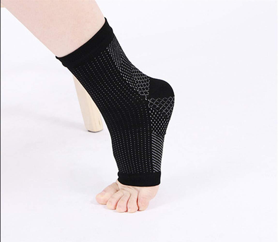 di Sostegno Plantare alla Caviglia Calze 4 Paia riduzione del gonfiore e degli speroni del Tallone Li Vita-Wear Rame infuso Supporto Magnetico del Piede Compressione Calze Dr