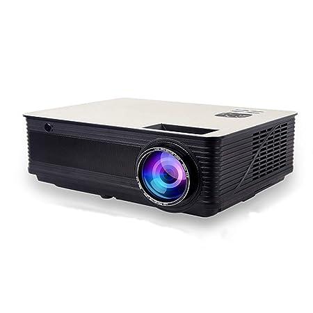 Llq2019 Proyector para el hogar pequeña Oficina HD 1080P proyector ...