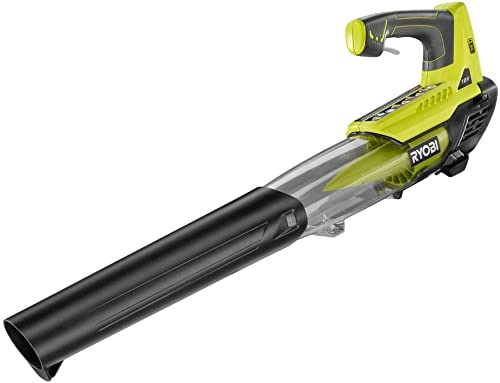 Ryobi P2108A ONE 100 mph 280 CFM 18-Volt Lithium-Ion Cordless Jet Fan Blower – Battery and Charger Not Included Renewed
