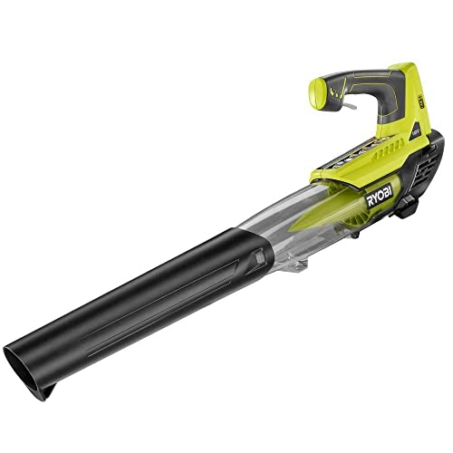 Ryobi P2108A ONE 100 mph 280 CFM 18-Volt Lithium-Ion Cordless Jet Fan Blower - Battery and Charger Not Included Renewed