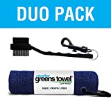 Greens Towel Duo Pack (Navy Blue)