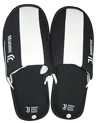 Juventus Calcio Ciabatte Pantofole Da Casa Tifosi Juventini PS 08416