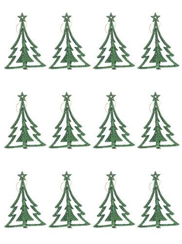 Shaped Christmas Tree Ornament - 4