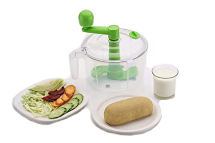 Slings One Stop Shop Dough/Atta Maker Must For Every Kitchen, Green
