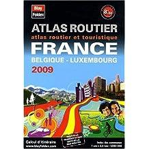 Atlas Routier Touristique France, Belgique, Luxembourg 2009
