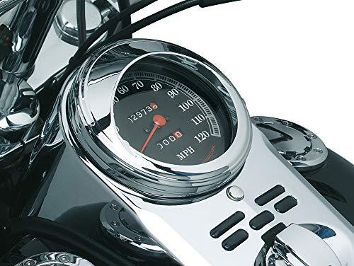 Kuryakyn 112 Speedometer Trim Ring with Visor ()