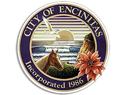 Amazoncom Ghaynes Distributing Encinitas City Seal Sticker