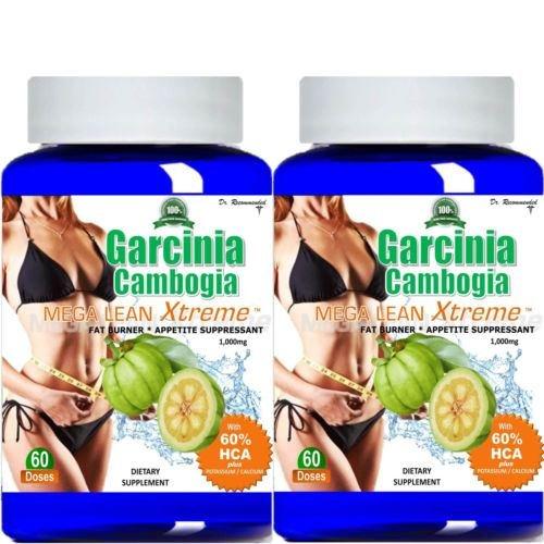 100% Pure Garcinia Cambogia Extract Mega Extreme 1000mg 100% HCA Weight Loss.