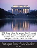 Crs Report for Congress, Vivian C. Jones, 1294025465