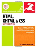 HTML, XHTML, and CSS, Elizabeth Castro, 0321430840