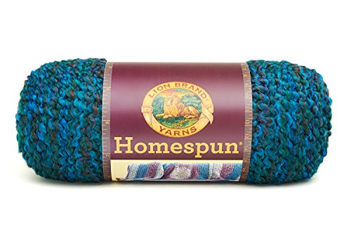 (Lion Brand Yarn Lion Brand Homespun Yarn (404) Lagoon,)